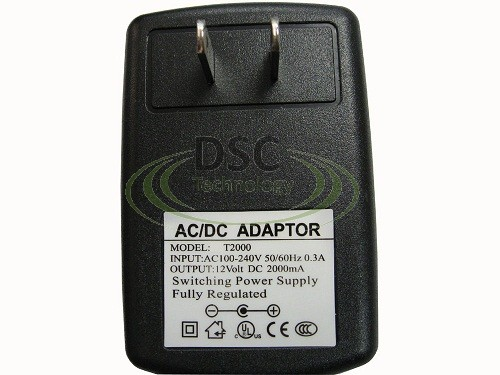 4 Port 12V DC 2A Power Supply for Surveillance Cameras