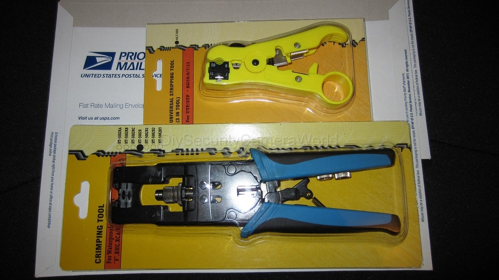 BNC Compression Tool and Cable Stripper