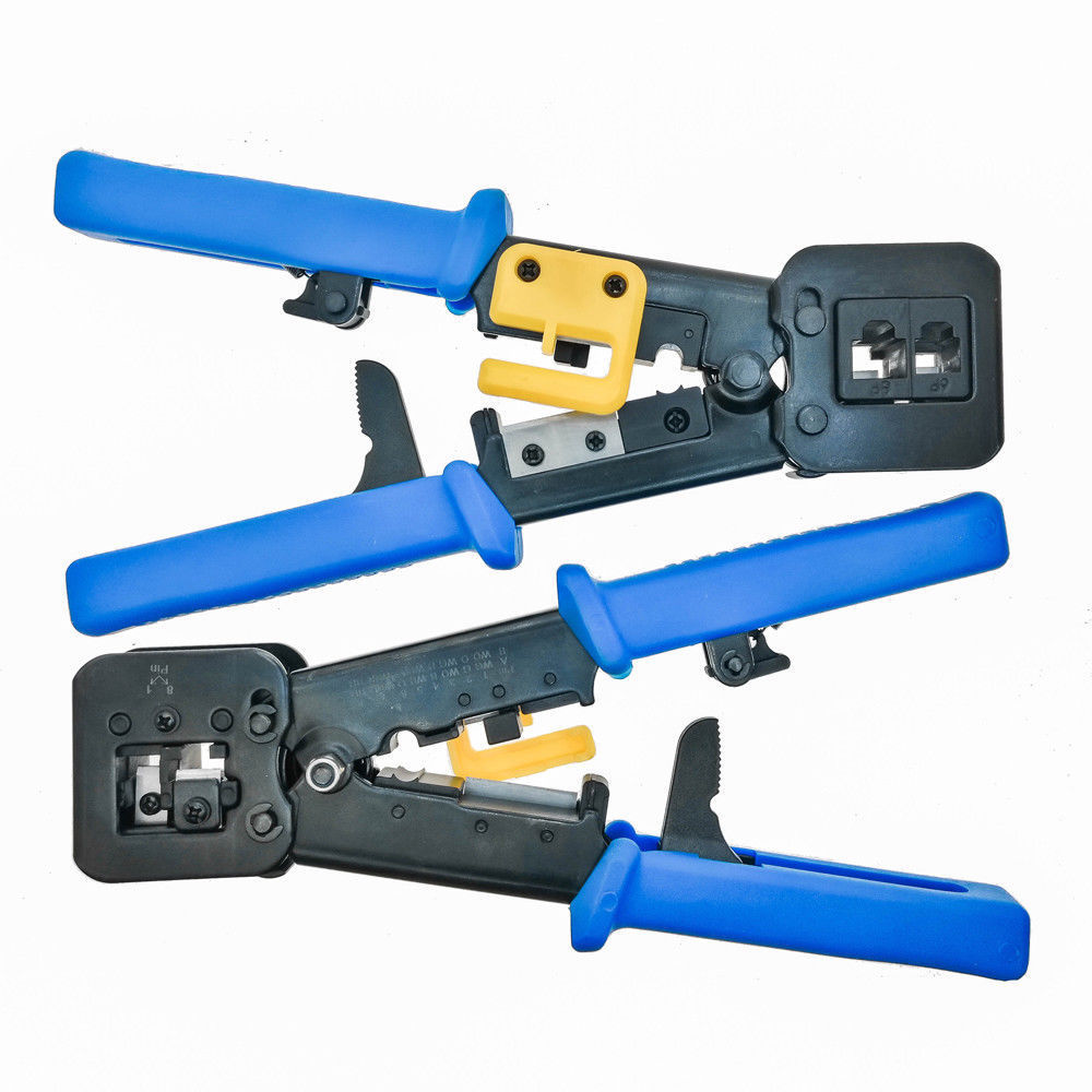 EZ-RJ45 Crimping Tool End Pass Through Crimm cutter cat6/cat5