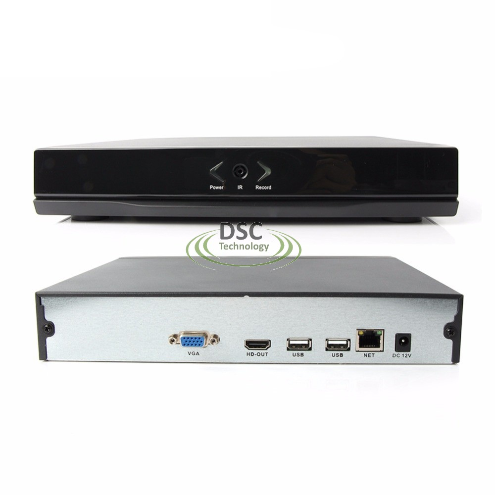 8CH 1080P 4MP Standalone NVR Support ONVIF, Mobile View