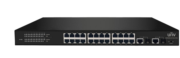 UNIVIEW NSW2000-24T2GC-POE Network 24 Port POE Switch